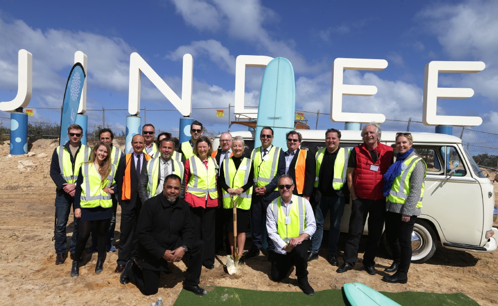 Ceremony launches Jindee estate in Jindalee