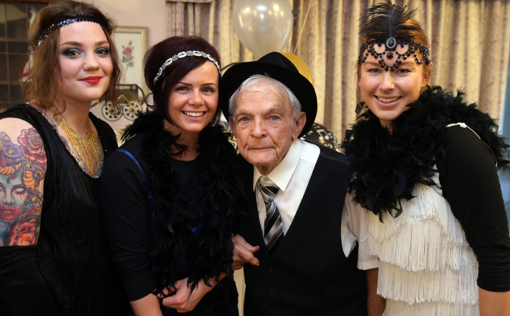 Great Gatsby party for Madeley seniors