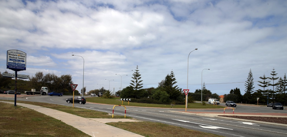 Drop in traffic volume sees plans for slip lane at Marmion Ave-Neerabup Rd roundabout scrapped