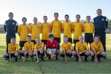 The WA under-13s side for the youth championships.  Picture: Vince Caratozzolo