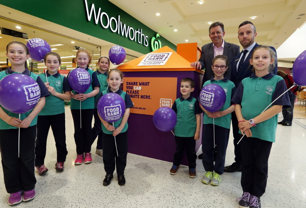 Foodbank WA teams up with Westfield to help the hungry