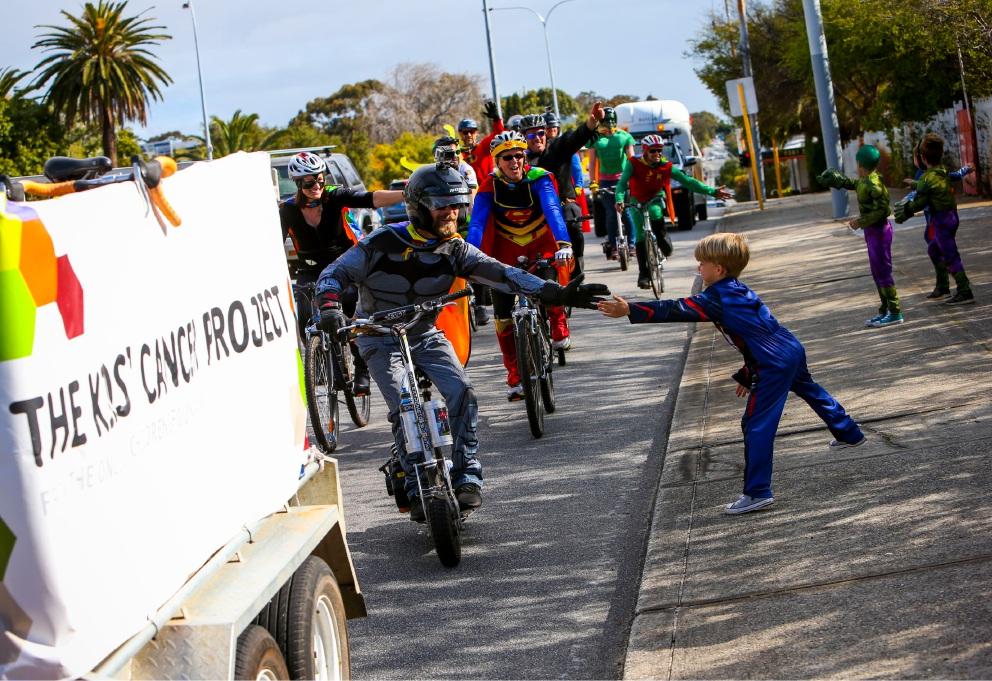 Superheroes make super effort for PMH
