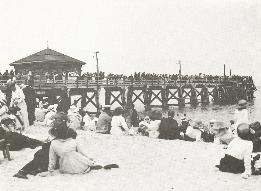 Cottesloe history: benefits of sea breeze original attraction