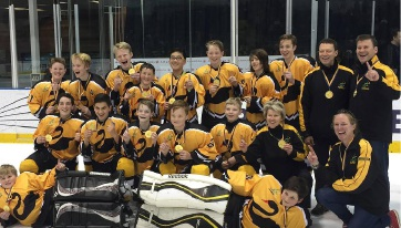 WA squad that won gold at the National Championships in Melbourne.