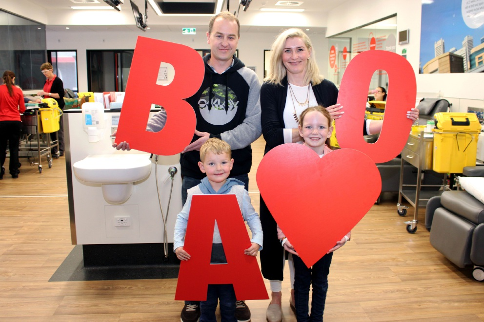 Hocking: brave Eva gives thanks to blood centres as call goes out for more donors