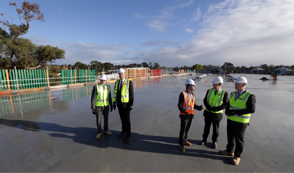 Edgewater Train Station carpark scheduled for completion by end of year