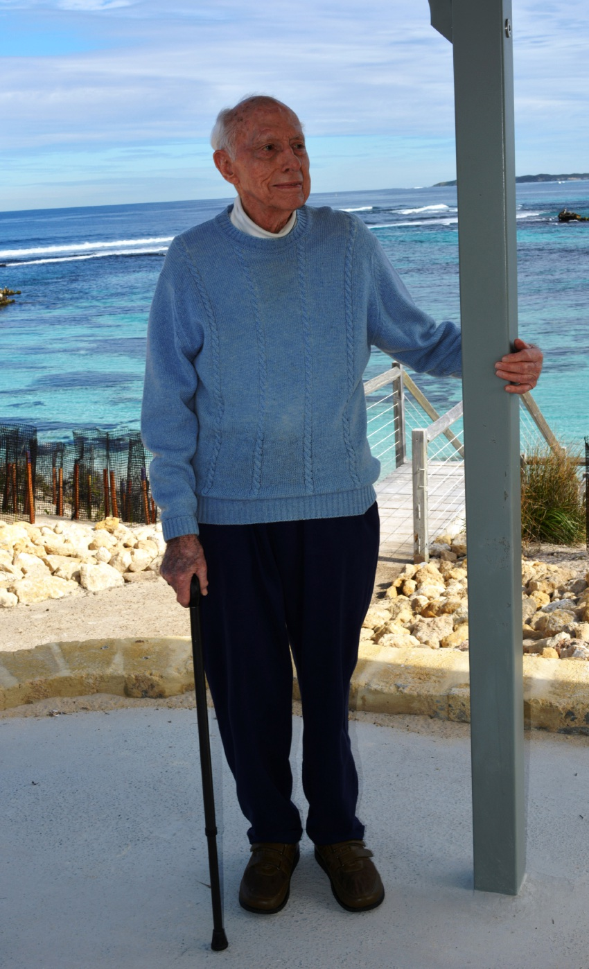 Don Watson shares fond family memories of Rottnest's Salmon Bay