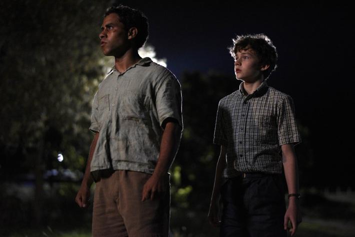 Aaron McGrath and Levi Miller.