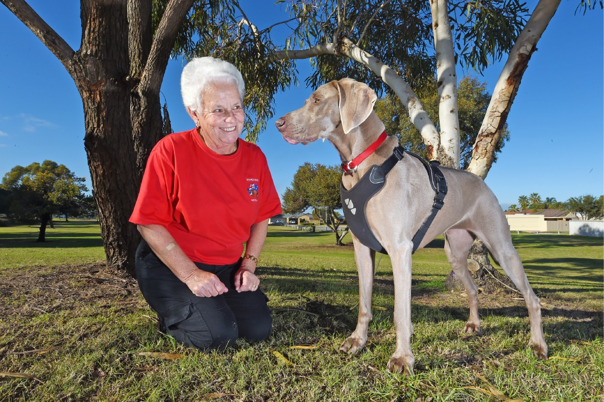 Rockingham's Bev Auld with Track and Search Grand Champion Drift.