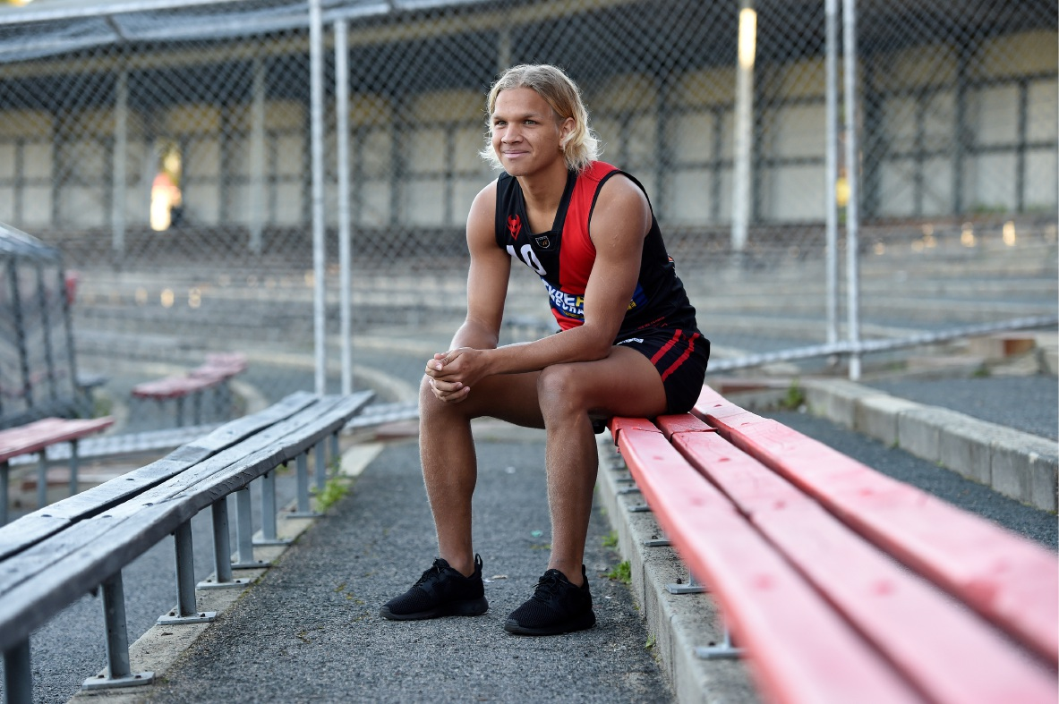 Quinton Narkle is heading to the AFL Draft Combine in October.