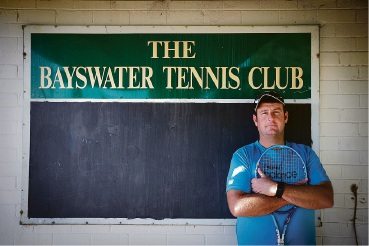 Bayswater Tennis Club Coach Anthony Harbrow