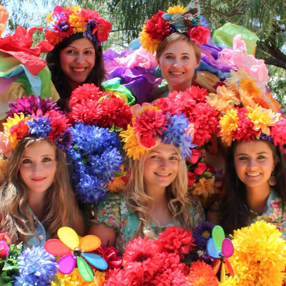 Freedom Fairies taking over Stirk Park in Kalamunda this weekend