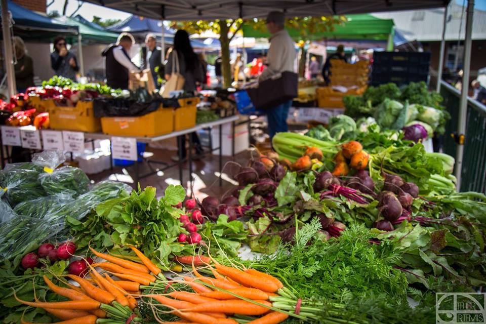 Subi Farmers Market gets busy on Saturday mornings