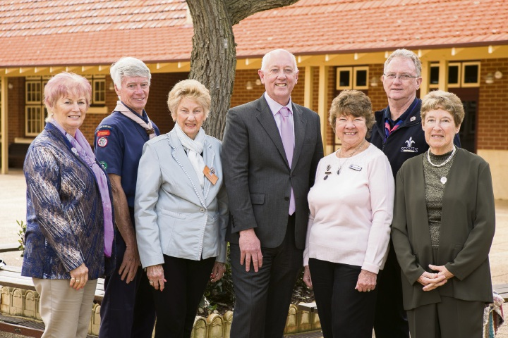 Some of the Wanneroo and Joondalup City residents recently honoured for their volunteer work, with Minister Paul Miles. Mr Christopher Barugh is absent.