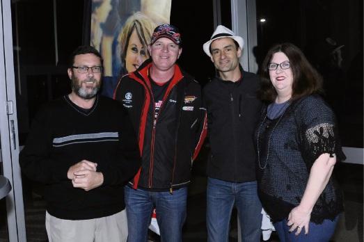 Michael Campbell, Robert Puljar, Jason Kiely and Kat Campbell.