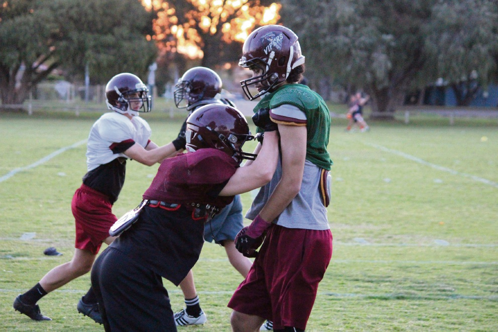 Rockingham Vipers gunning for a 'three-peat' in Gridiron West