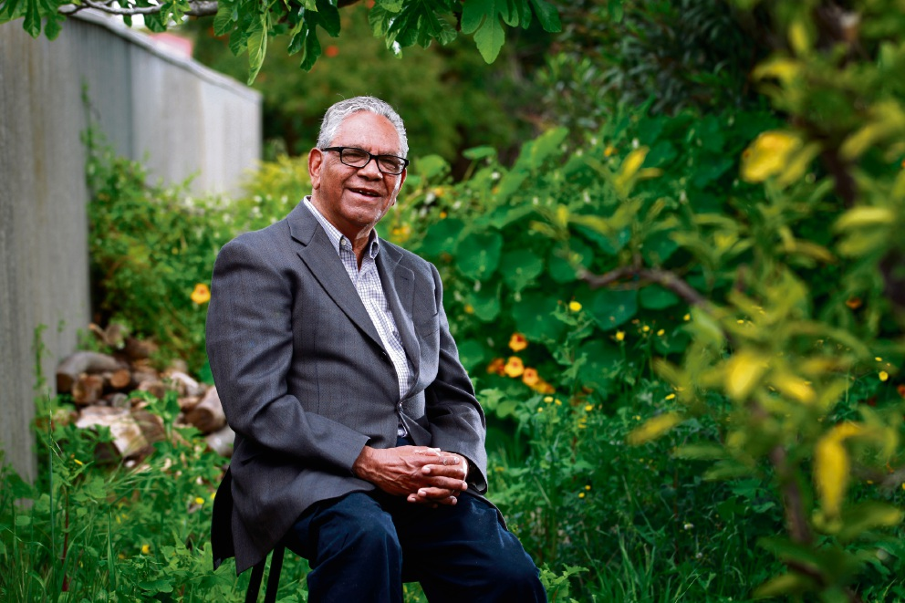 Indigenous elder Albert Knapp is telling his story in the upcoming exhibition Know Your Nation. Picture: Marie Nirme