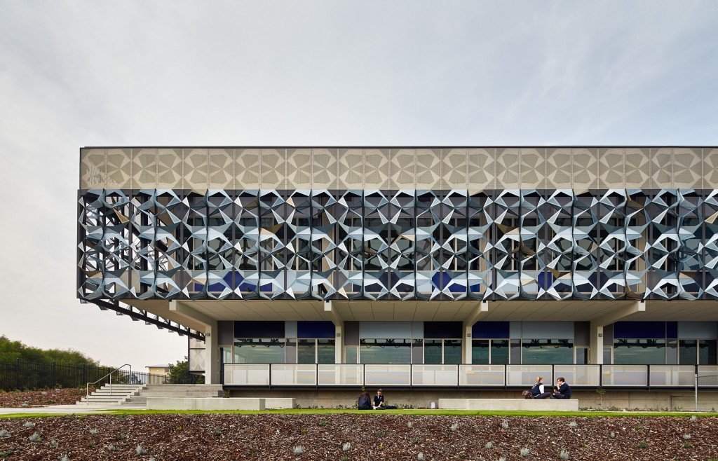 John Curtin's Year Seven building. Photo: JCY Architects