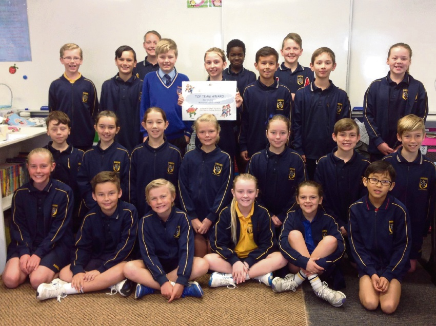 Mandurah Baptist College Year 5 students took up the challenge.