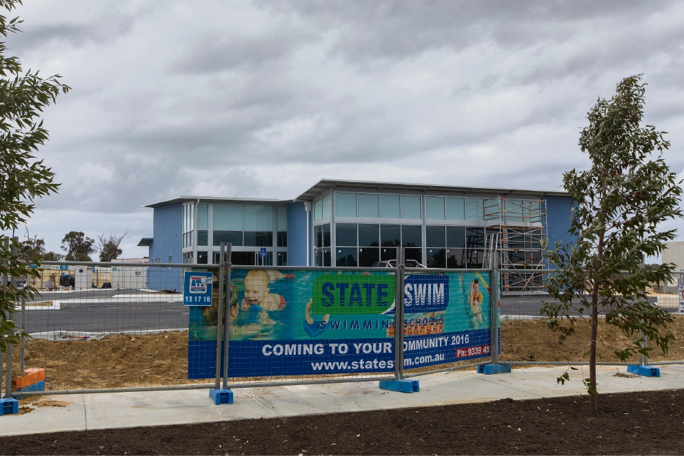 The new State Swim centre which will open in Butler next month.