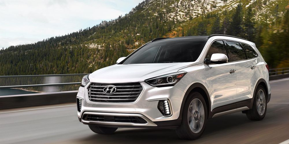 Hyundai Santa Fe firing on all cylinders
