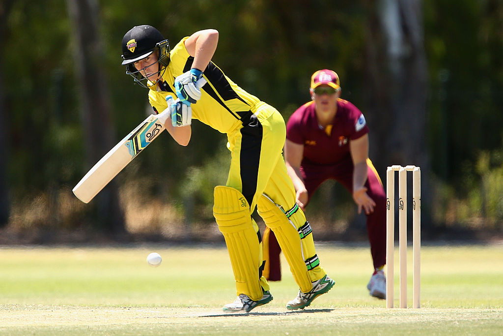 Elyse Villani has been named the new Western Fury captain. Picture:  Robert Prezioso/ CA/Cricket Australia/Getty Images