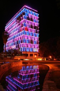 Council House will be dressed in blue and pink.
