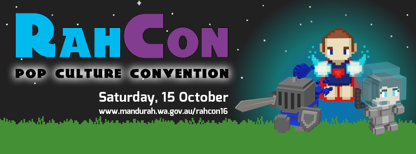 RahCon Pop Culture Convention to hit Mandurah on Saturday