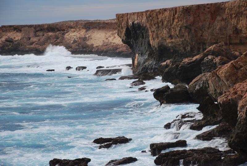 Cliffs in Dirk Hartog Island. Photo: DPAW.gov.au