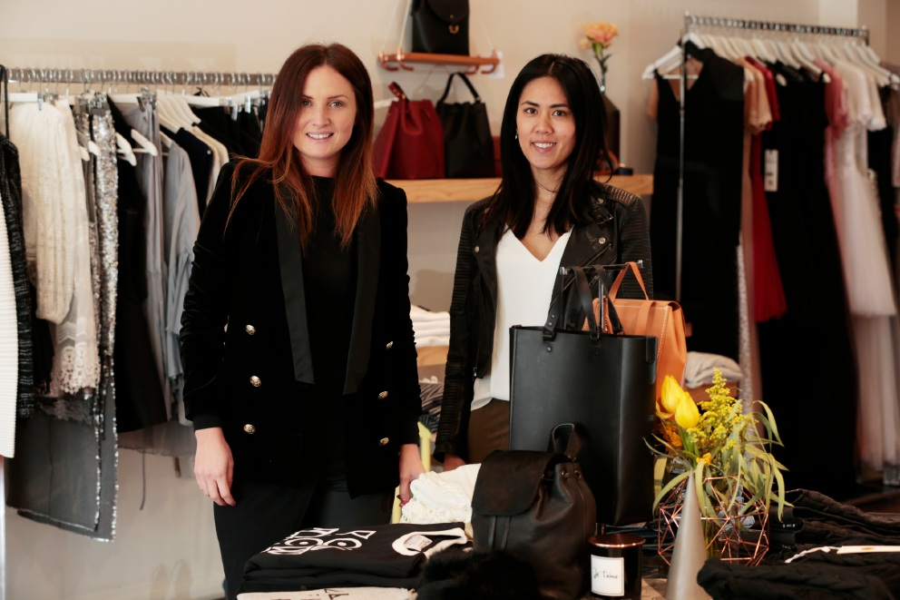 Claremont marketing officer Jacqui Brown declares the town Perth's fashion capital