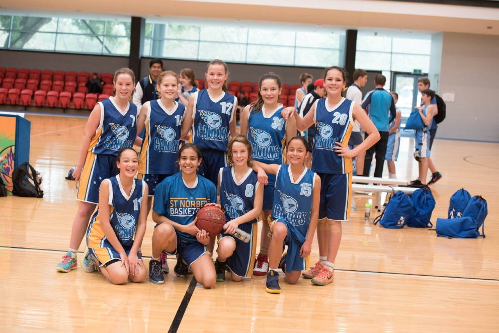 St Norbert College Year 7s storm to Basketball WA comp win