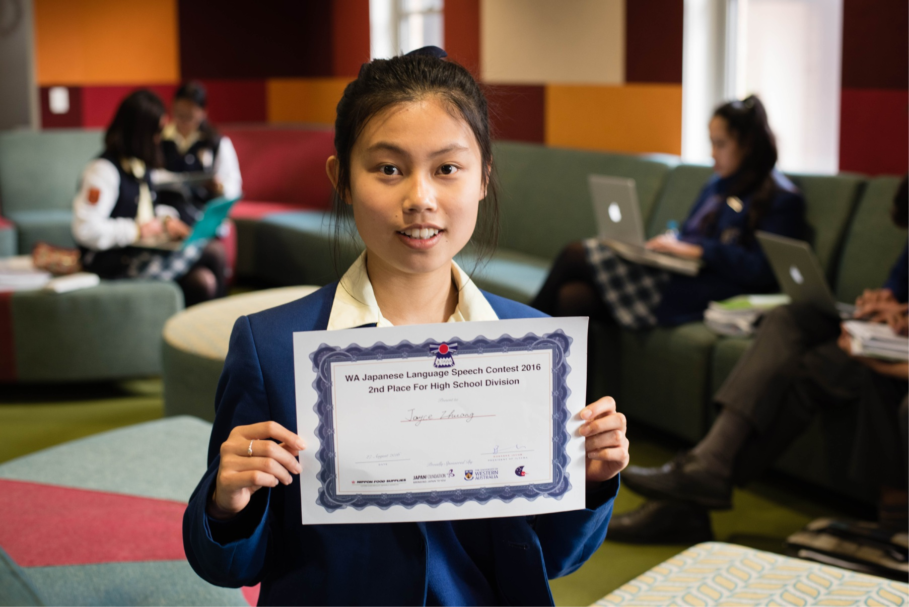 St Norbert College year 11 student places second in Japanese language competition