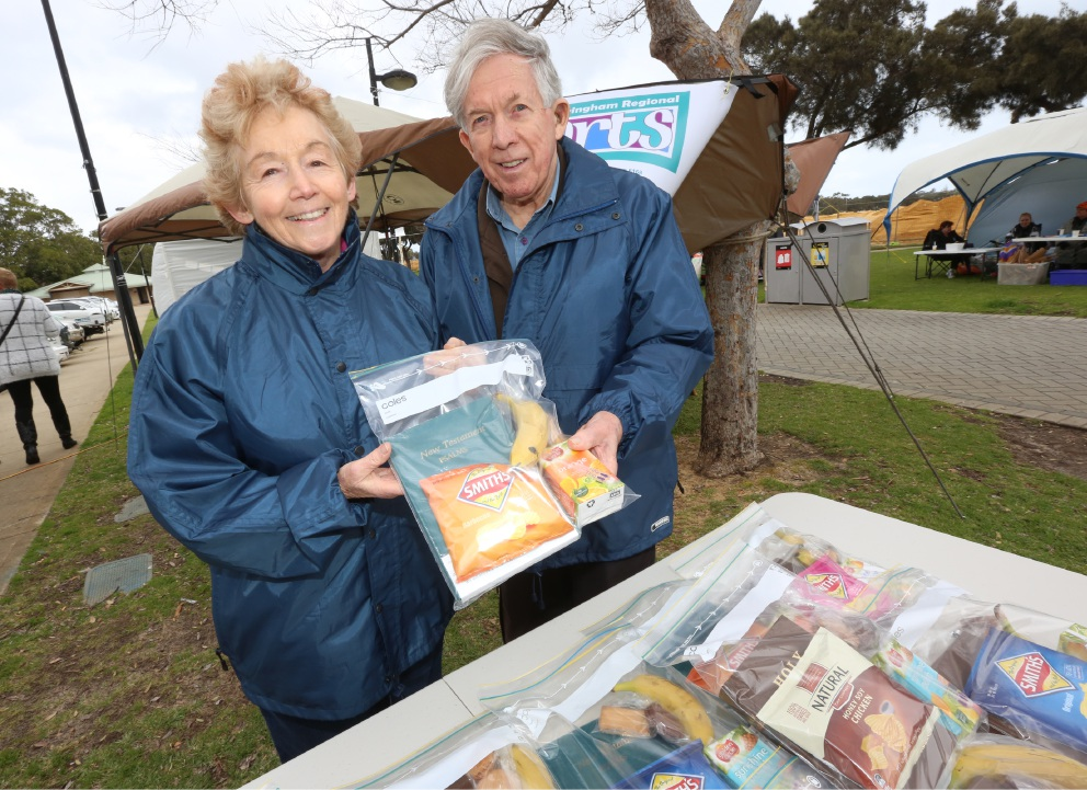 Mandurah: Homeless Awareness Week event on the foreshore