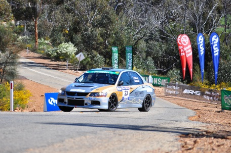 Quit Targa West Rally: Peter Major and Greg Flood take honours in tricky event