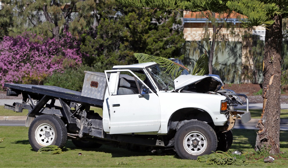 Butler: Police allege drink driving the cause of car vs tree crash