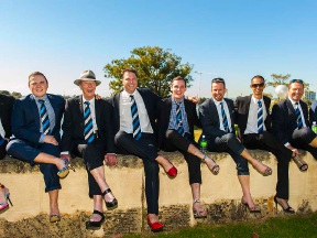 Walk a Mile in Her Shoes: Harcourts ready to step out in support of White Ribbon