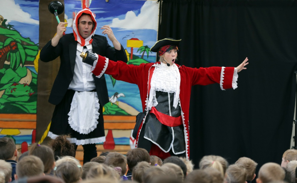 Educational pirates teach Butler and Yanchep students about conservation