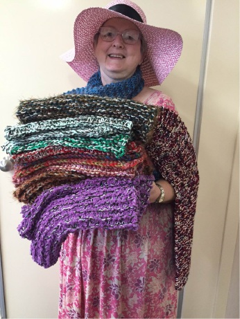 Mandurah knitter is generous donator to Sox 'n' Jox Appeal