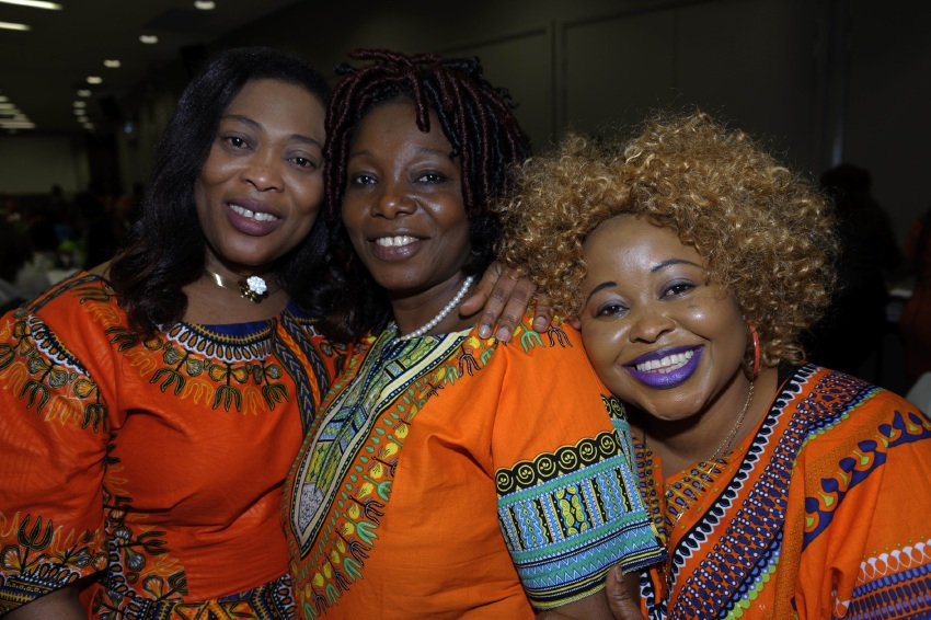 Patience Awosa, Margaret Sam and Evelyn Saah.