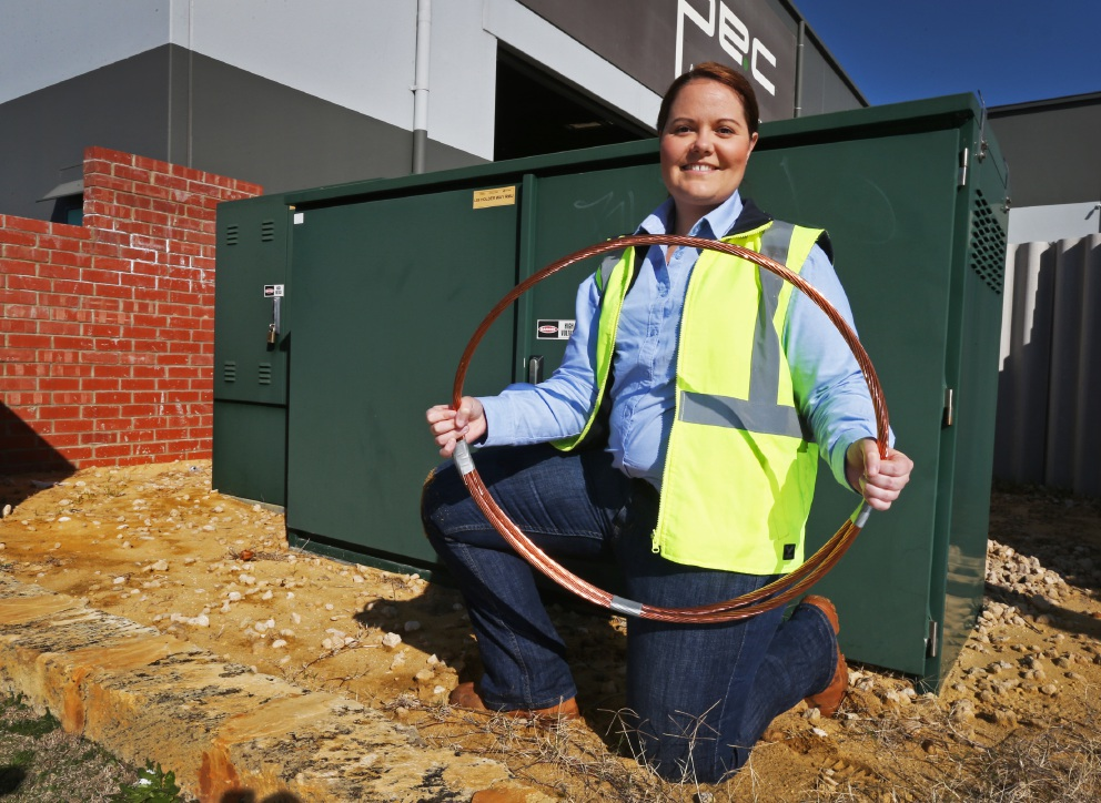 Western Power opting for copper clad cables to deter thieves