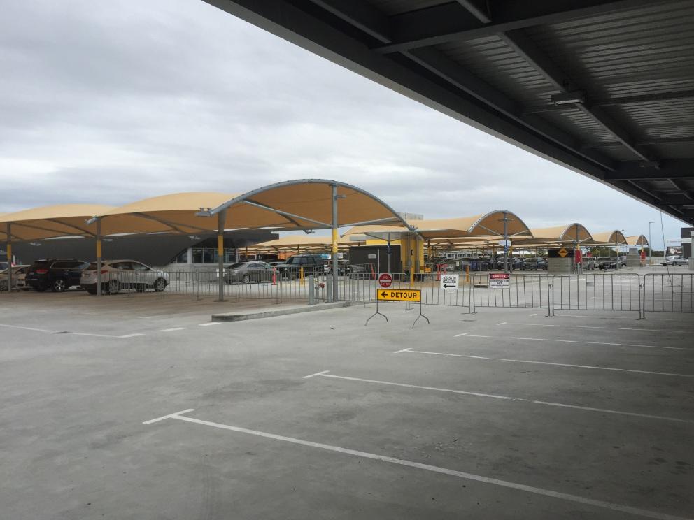 Concerns about cracks at Ocean Keys Shopping Centre car park