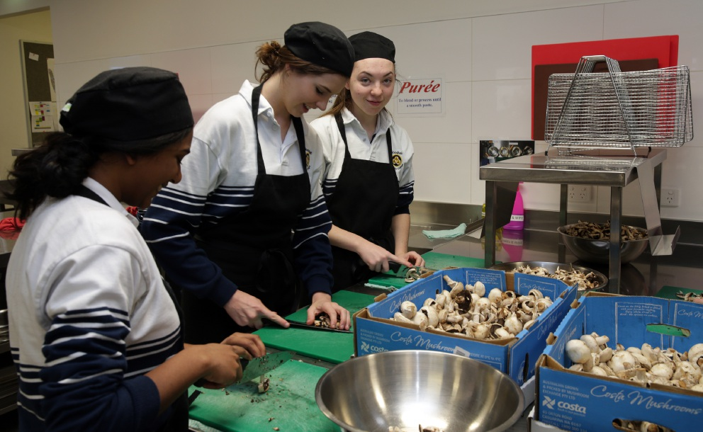 Woodvale Secondary College students cook up a storm for the needy