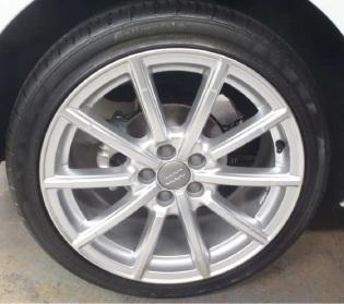 Rims stolen from Audi dealership