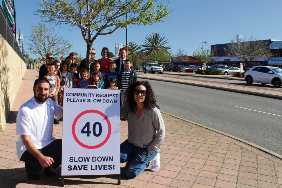 Main St: residents take speed limit matters into own hands