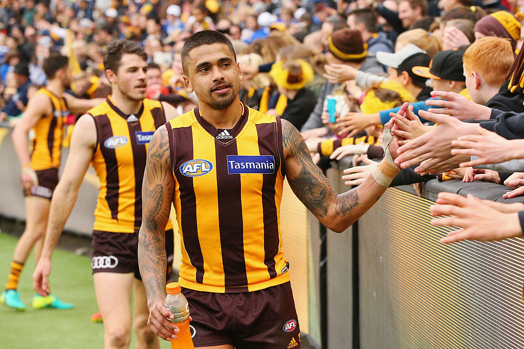 Bradley Hill is a three-time premiership player with Hawthorn. Photo: Getty