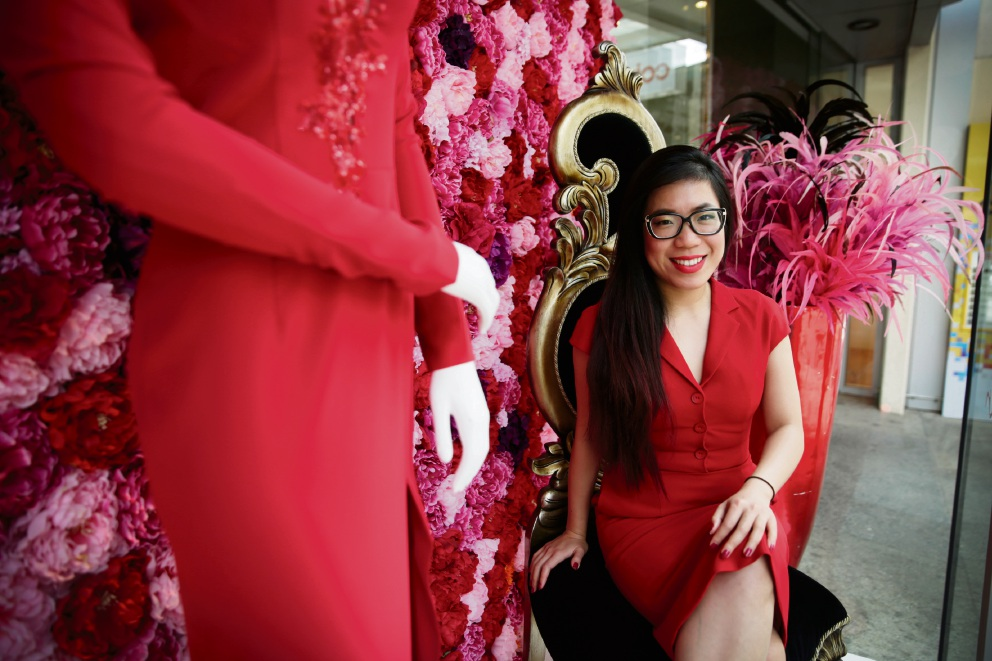 Designer Betty Tran cleans up at Business Women's Award
