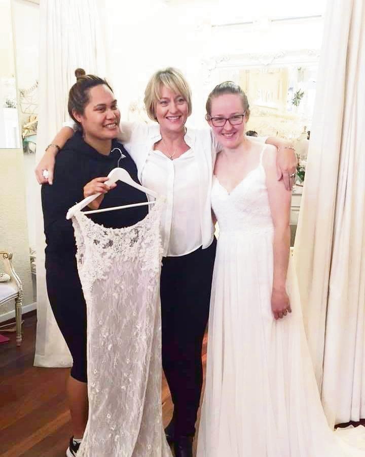 Ellenbrook wedding belle grateful for dream dress