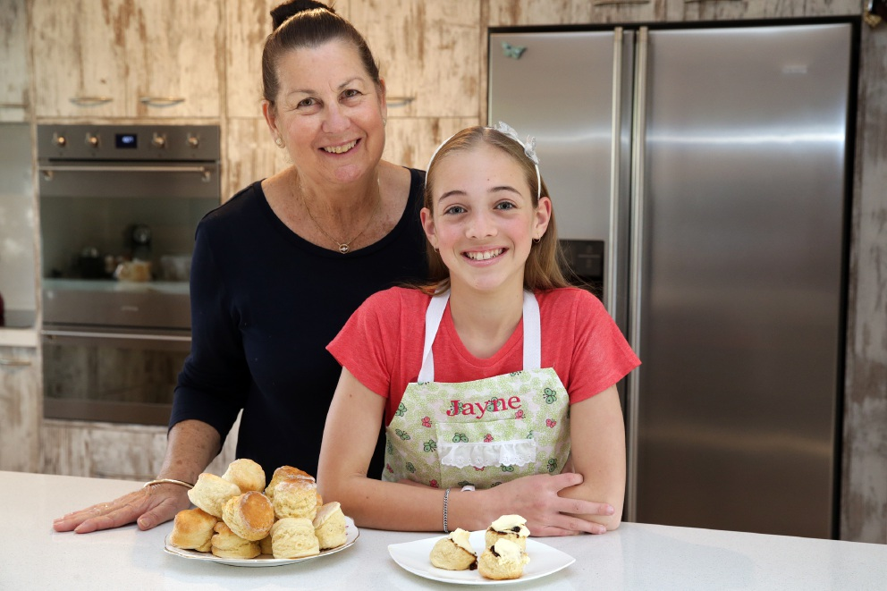Junior scone maker hoping for more culinary glory
