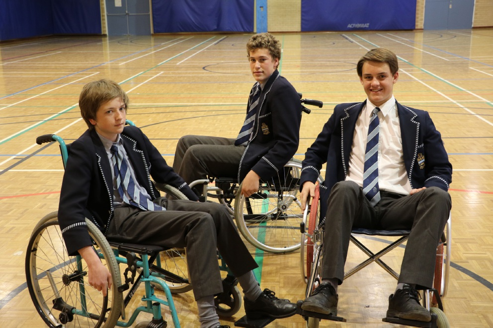 Hale students undertake Wheelchair Challenge to raise money and awareness