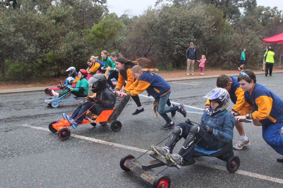 Lesmurdie Le Mans: students get ready to roll for annual races